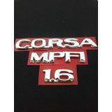 Kit Emblemas Corsa+ Mpfi+ 1.6 Ano 96/...