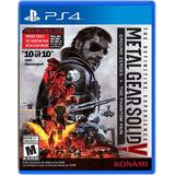 Metal Gear Solid Definitive Experience Ps4 Nuevo - Jgames