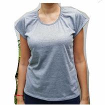 Remera Modal Gris Mujer Para Sublimar Sublimacion Estampado