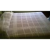 Cobertor 2 Plazas Tejido Crochet