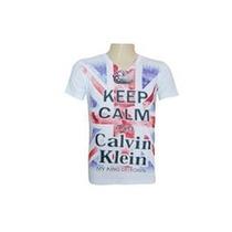 Kit 50 Camisa Camiseta Calvin Klein Gola V Canoa