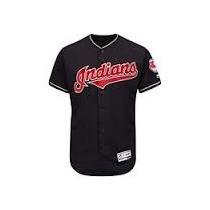 Jersey Beisbol Lindor #12 Cleveland Indians Talla M Azul