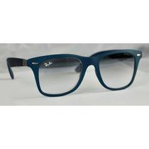 Lente Ray-ban Liteforce Negro Polarizado Marco Azul