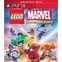 Fisico Original Ps3 Playstation Lego Marvel Super Heroes