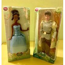 Disney Store Set La Princesa Y El Sapo Tiana & Naveen