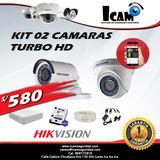Kit 02 Camaras Hd Hik Vision