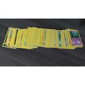 Lote De 100 Cards De Pokémon