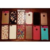 Vendo Lote Pretector Funda Carcasa Iphone 6 Plus Impecables