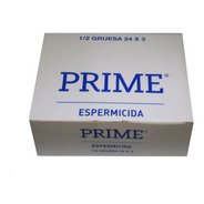 Preservativos Prime Espermic. 24 Cajitas X 3