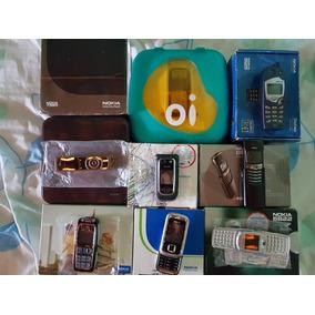 Coleção Celulares Nokia, Vários Modelos Antigos E Raros