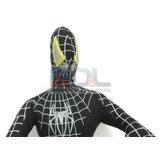 Hombre Araña Spiderman Peluche Negro Enorme 60 Cm Mirá!
