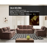 Modular 3,2,1 Bolonia Home Market Salas Sofas Envio Gratis
