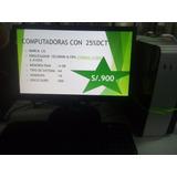 Pc Celeron J1900 1.8ghz Monitor + Cpu + Teclado Y Mouse