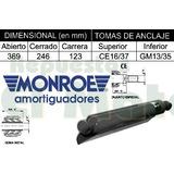 Amortiguador Chevrolet C10 C20 D20 C30 Usa 79/82 Silv Monroe