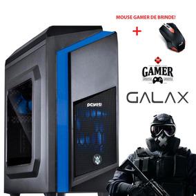 Pc Gamer Cpu Vanis Moba Box Intel 7°g + 8gb+1tb + R7 2gb