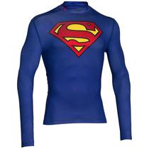 Playera Superman Compression Alter Ego Under Armour Ua700
