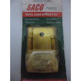Bisagras De Acero Color Bronze 1.4 Mm De Grueso Marca Saco