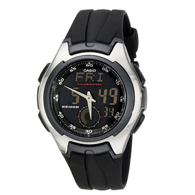 Relógio Casio Aq160w-1bv Ana_digi 100% Original
