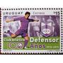 Osl Sello Uruguay Club Defensor 100 Años Fútbol Farola