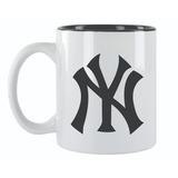 Taza De Cerámica Yankees New York Café Beisbol