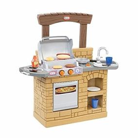 Asador Para Niños Cocinita Cocina Para Niños Casita Ladrillo