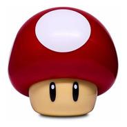 Luminaria Super Mario Bros Mushroom Light Nintendo Cogumelo