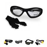 Óculos Epi Segurança Sport Ciclista Miliar Proteção Incolor a12de18dbc