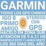 Actualizacion Gps Chino Garmin Igo8 Primo Stereo En Zona Sur