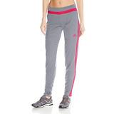 Pantalones Tiro De Mujer adidas, X-large, Gris / Rayo Rojo