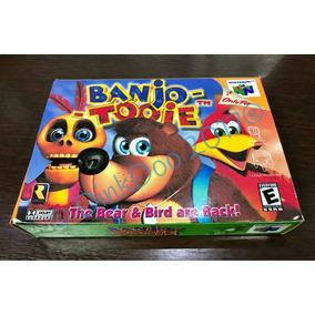 Caixa Nintendo 64 - Banjo-tooie - N64 - Repro