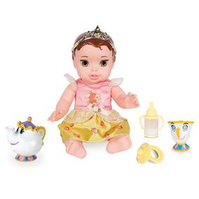 Boneca Baby Com Acessórios - Princesas Disney - A Bela E A