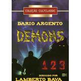 Box Dario Argento Apresenta Demons 1,2 E 3