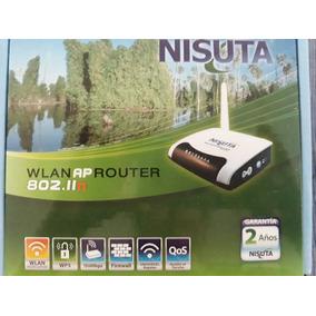 Router Inalambrico Wifi Wlan Ap 802.ii Nisuta! Oferta!