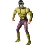 Fantasia Hulk Adulto Deluxe C/ Músculos Vingadores 2 Marvel