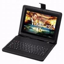 Tablet Android 5.1quad Core Wifi Tela 7 Até 32gb + Teclado