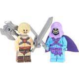 Set De Esqueleton Y He Man Compatible Con Lego Envio Gratis