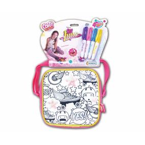 Soy Luna Bandolera Color Me Mine Bolso Colorear Educando