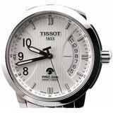 Reloj Tissot Prc200 Automatico/quartz Acero Nuevo Garantía