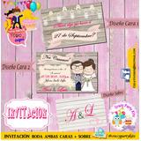 Invitaciones Boda!! Unicas Y Originales!!!
