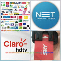 Aparelho Desbloqueador De Canais Card Tv Cabo Net Sky