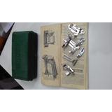 Antiguo Manual Y Caja Con Accesorios Singer Original