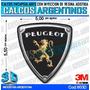 Calcomanias 3d Con Relieve, Resina Importada Logo Peugeot