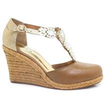 Sandália Zariff Shoes Anabela   Zariff