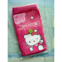 Bonita Funda Calcetín De Hello Kitty