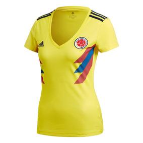 Camiseta Oficial adidas Seleccion Colombia Local Mujer