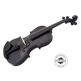 Violino 3/4 Jahnke Colors Preto (tenho Eagle Dominante Hofm
