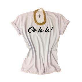 Roupa Feminina T-shirt Estampas Divertidas Branca Ou Cinza