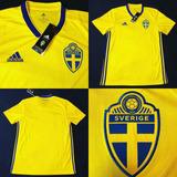 3662ca6a07 Camisa Da Suecia 2017 - Camisas de Futebol no Mercado Livre Brasil