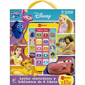Audio Cuentos Disney, Lector Electrónico Biblioteca 8 Libros