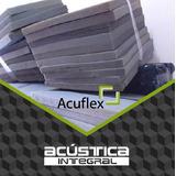 Placa Panel Acustico Conos Liso Material Acustico Barrera